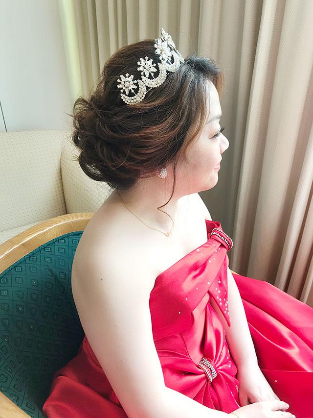 台南新秘柚子@台南大飯店 桂芳 結婚單妝新娘秘書 饅頭爸團隊2.jpg