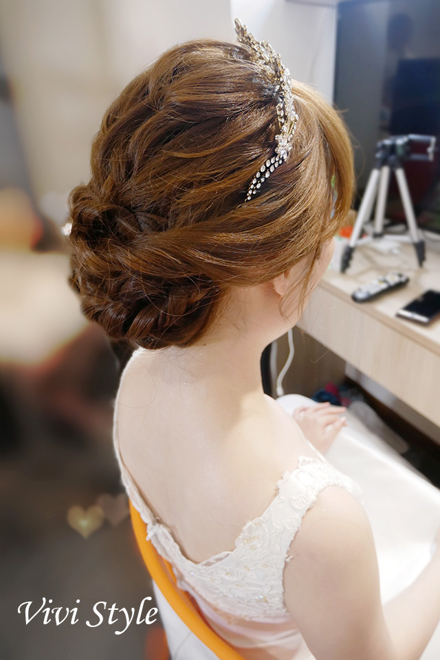 教堂證婚儀式造型 莉芸│台北新秘小樺vivi_04.jpg
